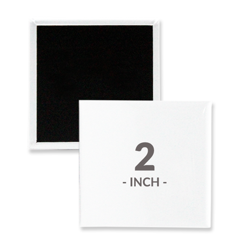 2 Inch Square Magnet Buttons