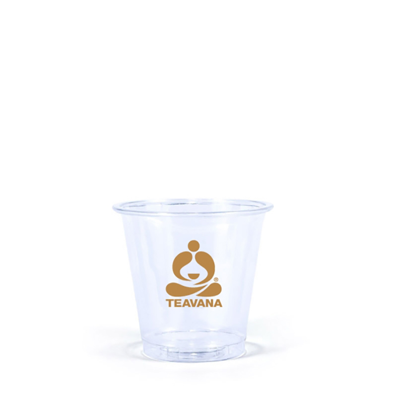 3 Oz. Clear PET Plastic Cups