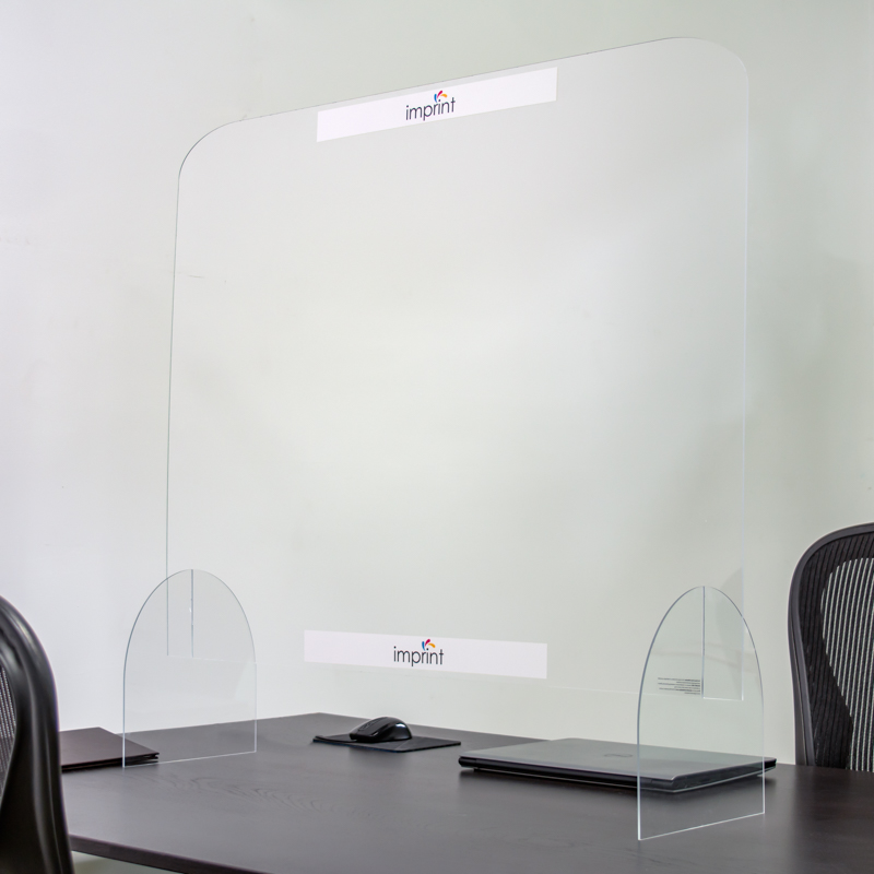 40 X 32 Inch Full Color Protective Acrylic Counter Barrier