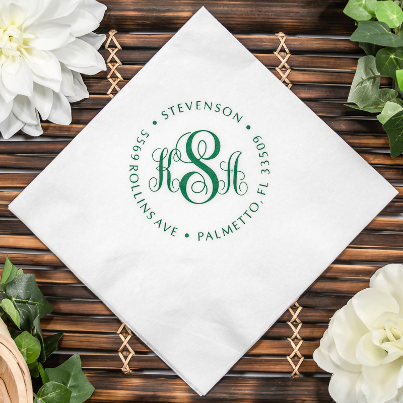Airlaid Linen-Like Beverage Napkins