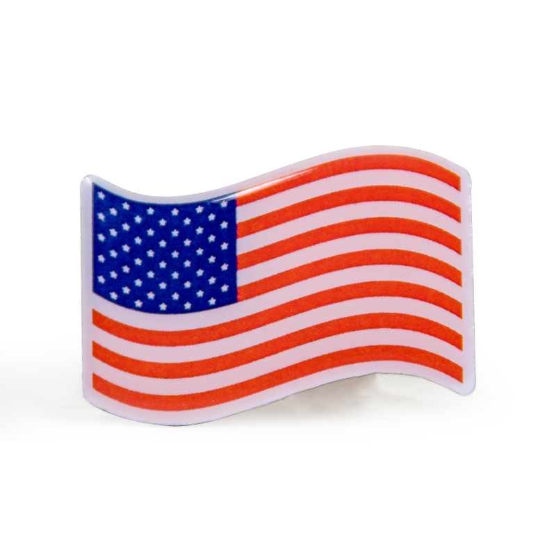 American Flag Stock Lapel Pins