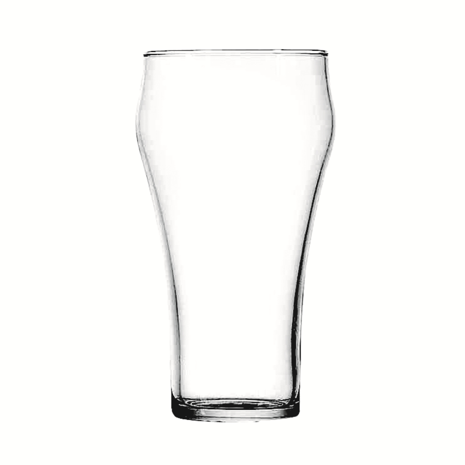 Bell Soda Glass- 21 Oz.