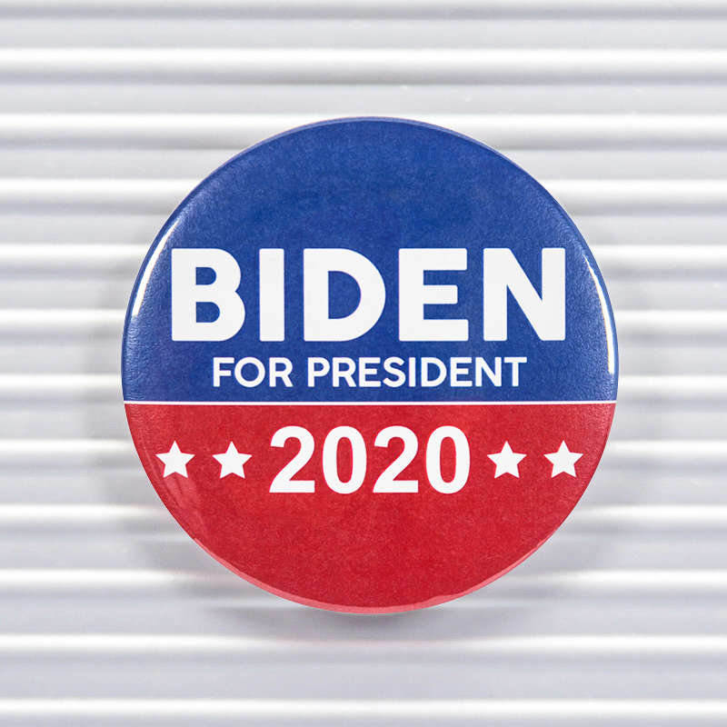 Biden For President 2020 Pin Buttons