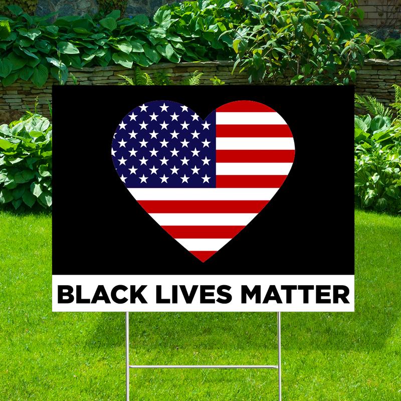Black Lives Matter USA Yard Signs