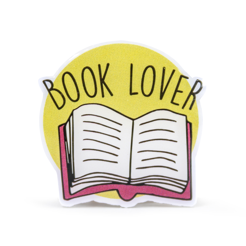 Book Lover Stock Lapel Pins