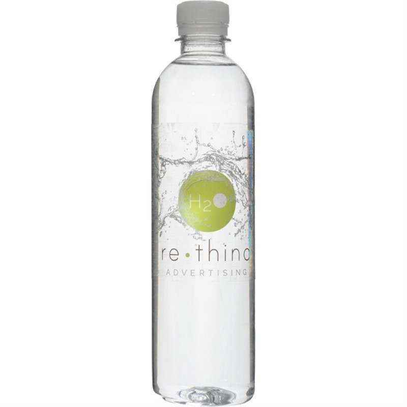 Bottled Water 16.9 Oz Tall Bullet/Cylinder
