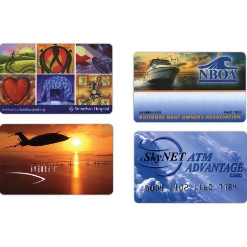 CR-80 Standard Size Plastic Cards