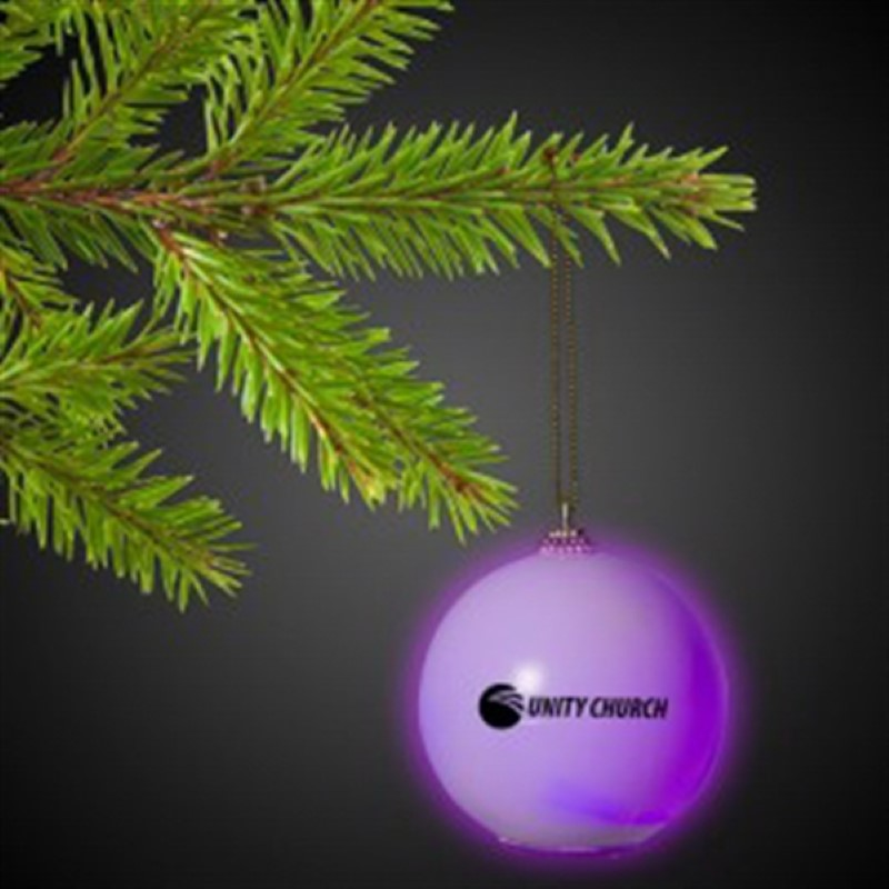 Christmas Ornament With Morphing LED Colors