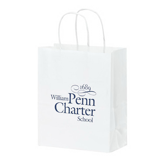 Cub Kraft White Bag