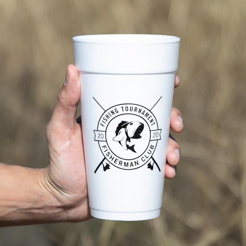 Custom 20 Oz. Foam Cups