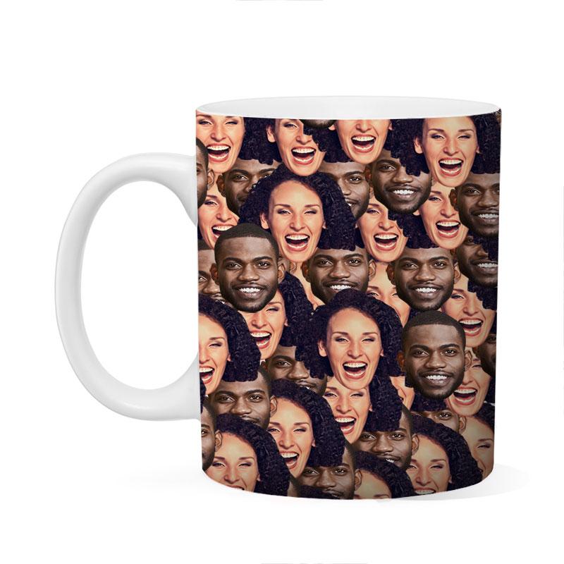 Custom Couple Mash Up Mug