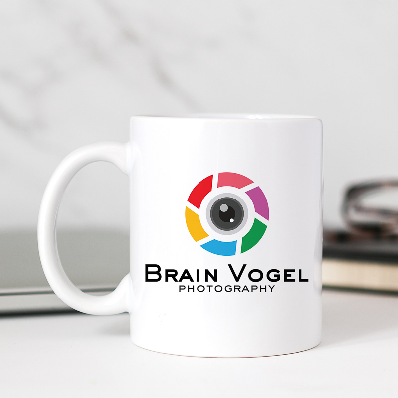 Custom Full Color Printing 11oz White Mugs