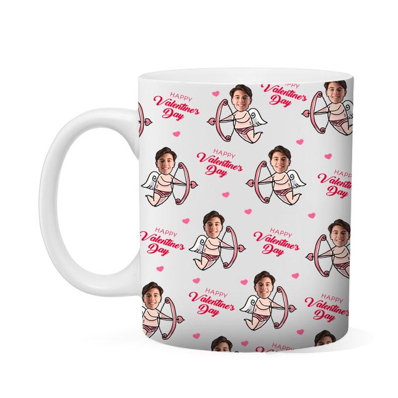 Custom Valentines Guy Mug