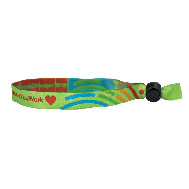 Custom Woven Cloth Wristbands