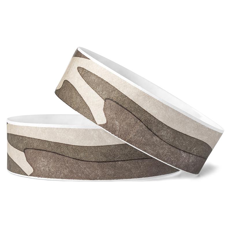 Desert Camo Tyvek Wristbands