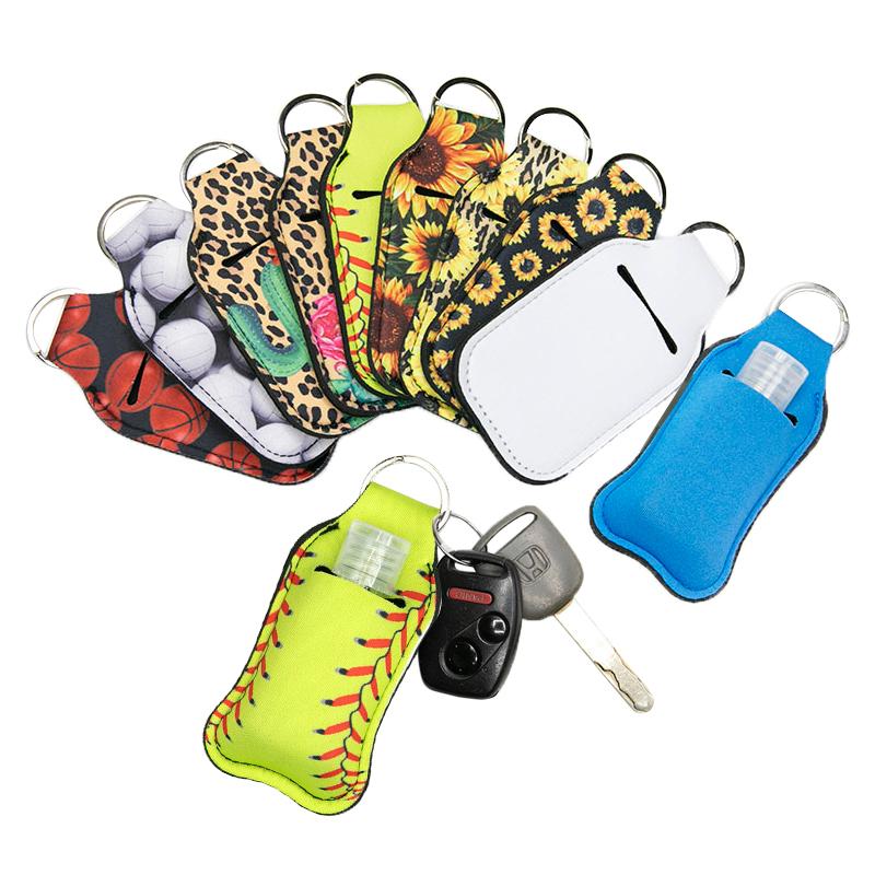 Full Color Neoprene Hand Sanitizer Holders