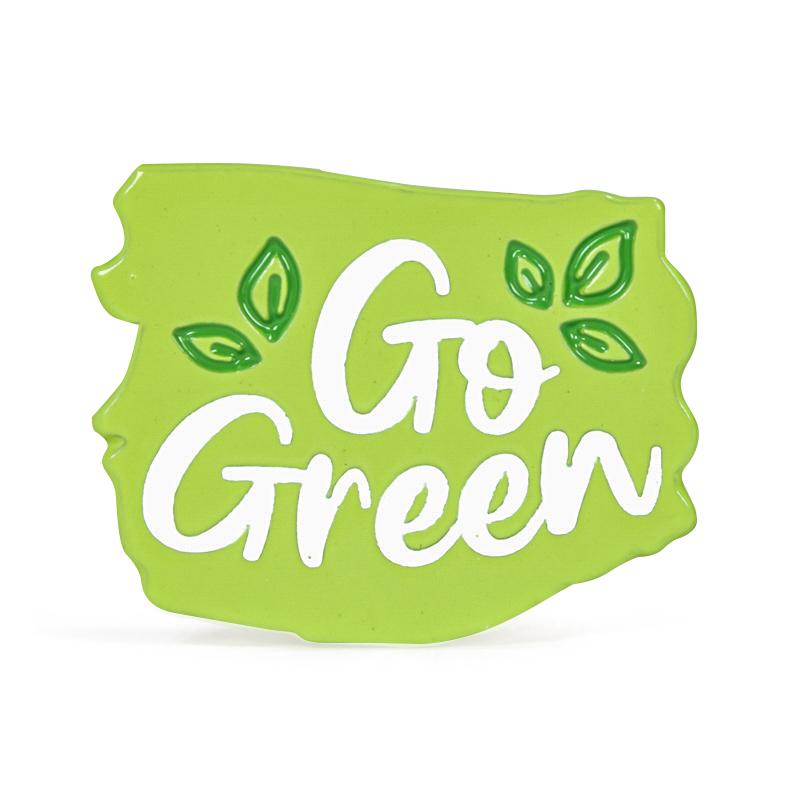 Go Green Stock Lapel Pins