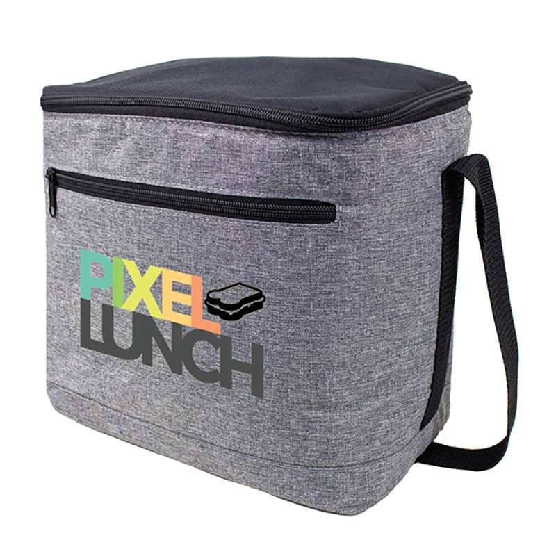 Heather Gray 12-16 Can Vertical Cooler Bags