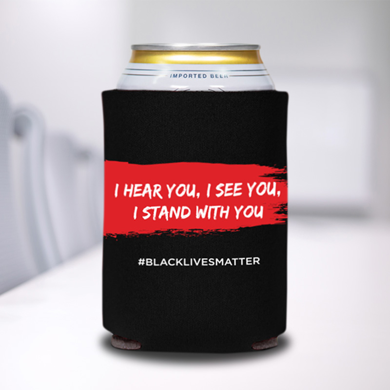 I Stand With You Can Coolers