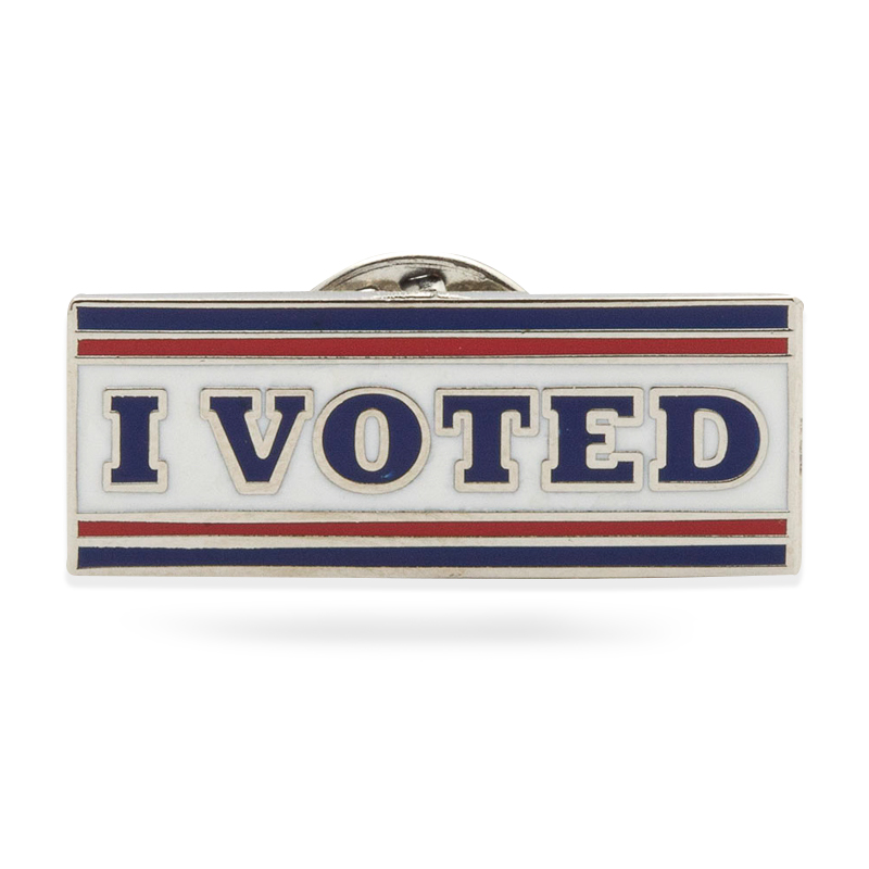 I Voted Stock Lapel Pins
