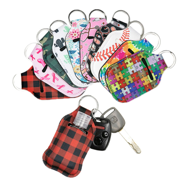 In Stock Neoprene Hand Sanitizer Holders