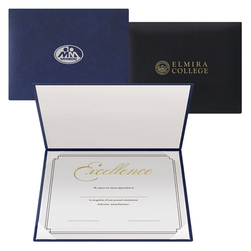 Leatherette Padded Certificate Diploma Holders