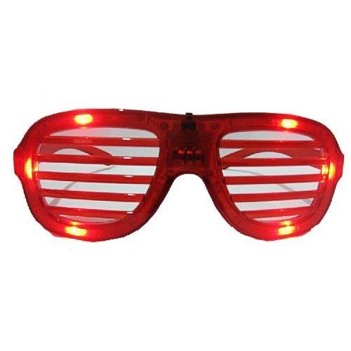 Light-Up LED Slotted Glasses