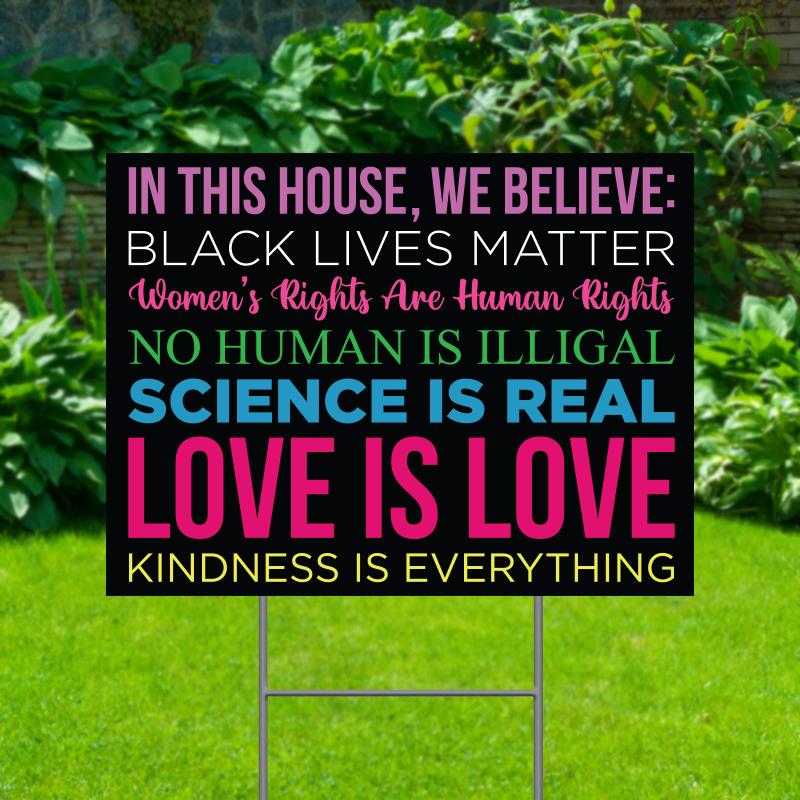 Love Is Love Yard Signs