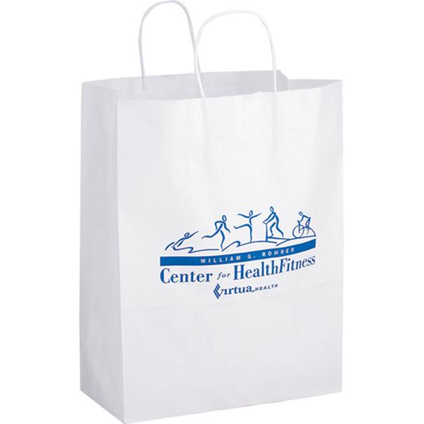 Mart White Paper Bag