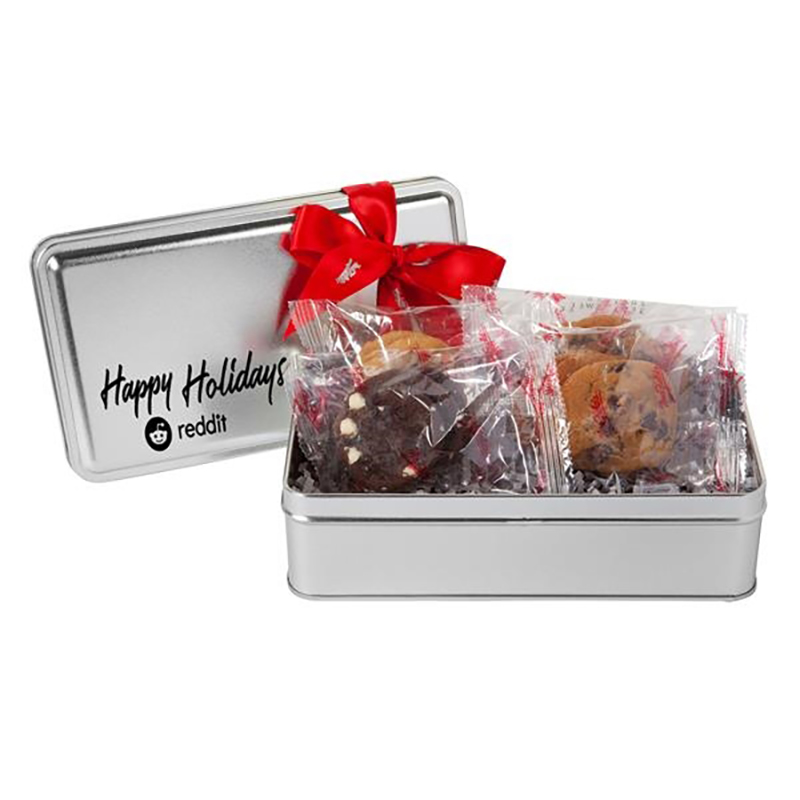 Mrs. Fields® Holiday Variety Cookie Tin