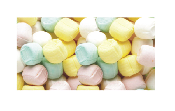Pastel Buttermints Soft Candy In Stock Packaging