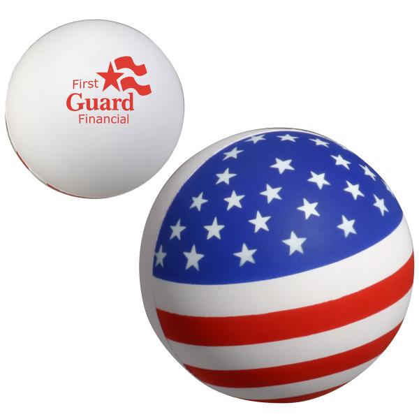 Patriotic Stress Ball Stress Reliever