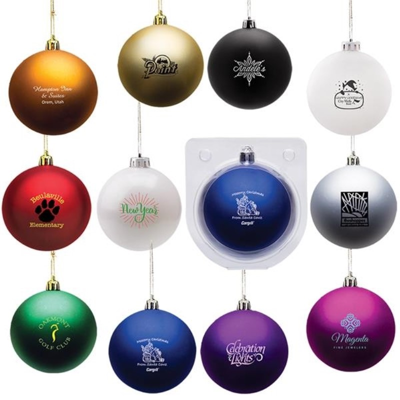 Personalized Shatter Resistant Ornament