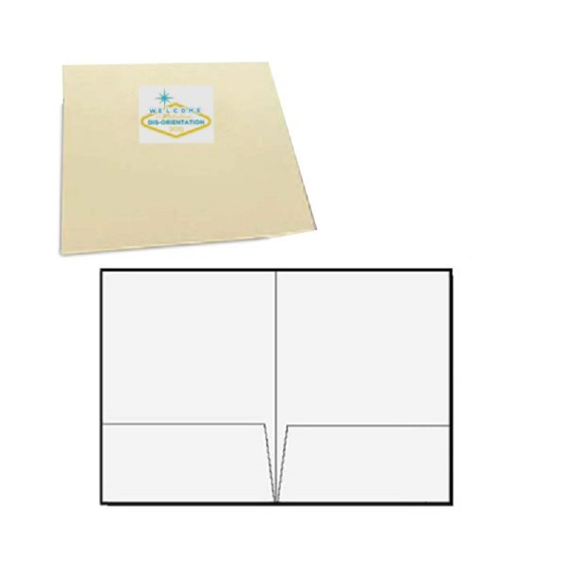 Presentation Folders - Print/Foil/Emboss 1 Color