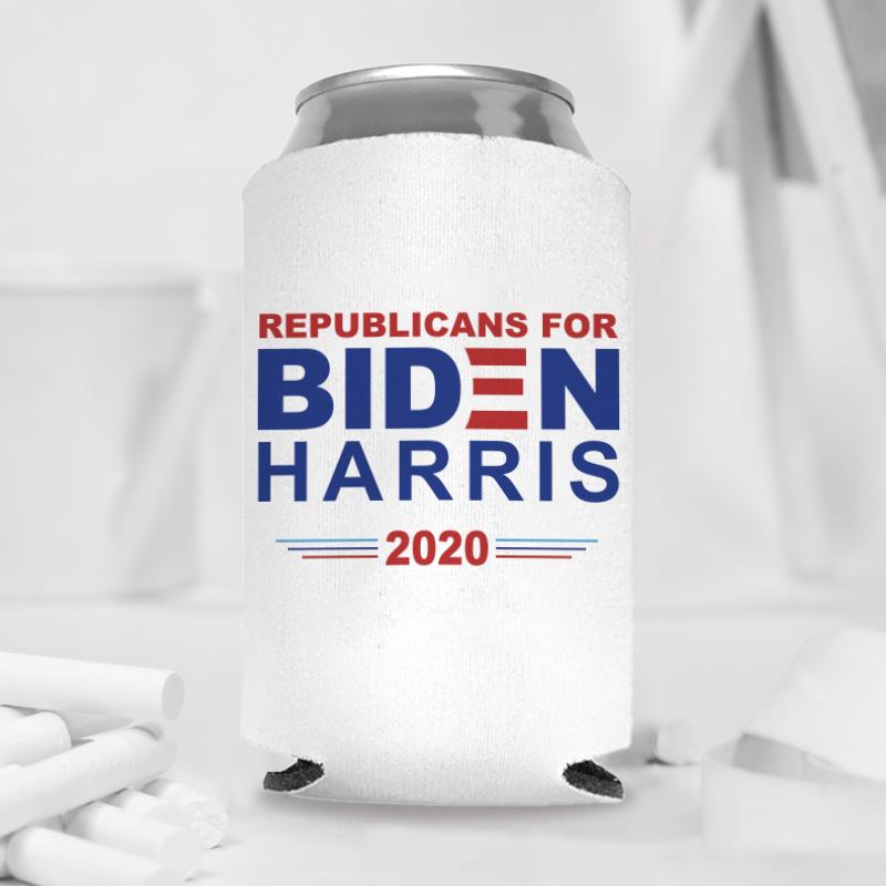 Republican For Biden Harris 2020 Can Coolers