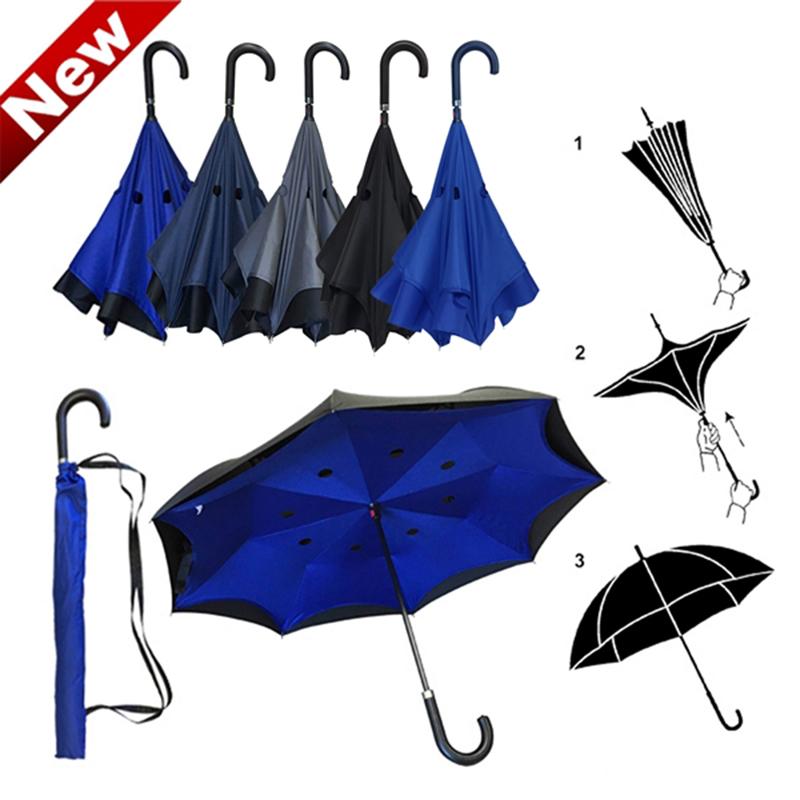 Reversed Double Layer Straight Umbrella