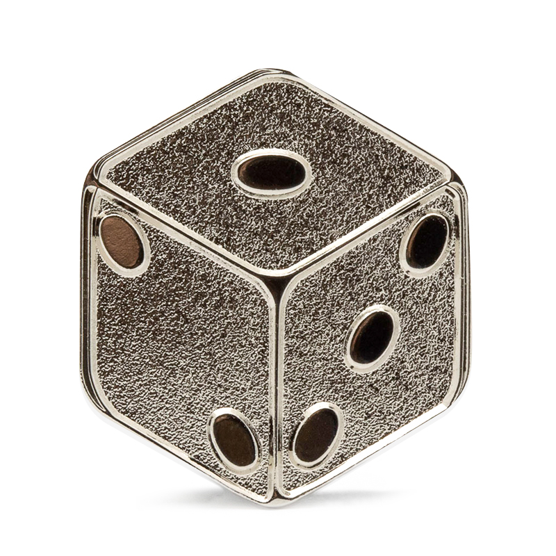 Rolling Dice Stock Lapel Pins