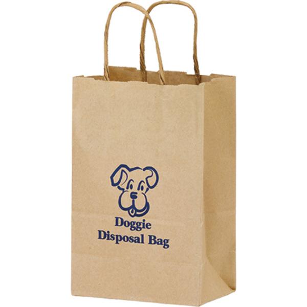 Rose Kraft Bag