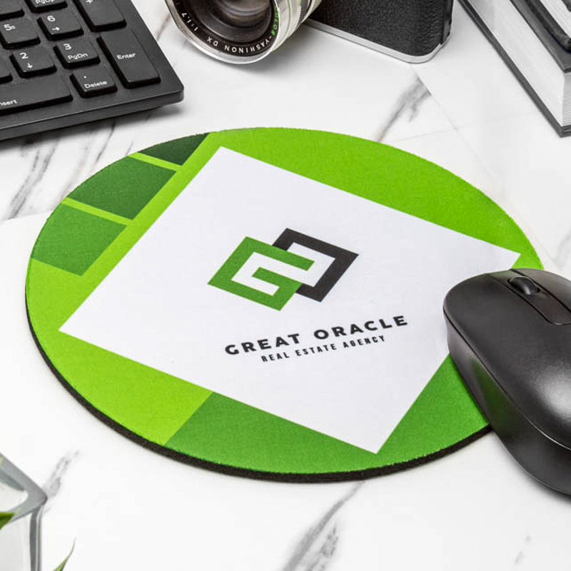 Round Mouse Pads Personalized