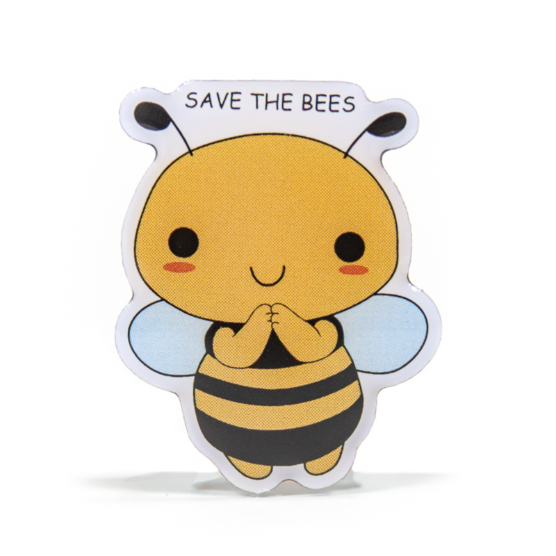 Save The Bees Stock Lapel Pins