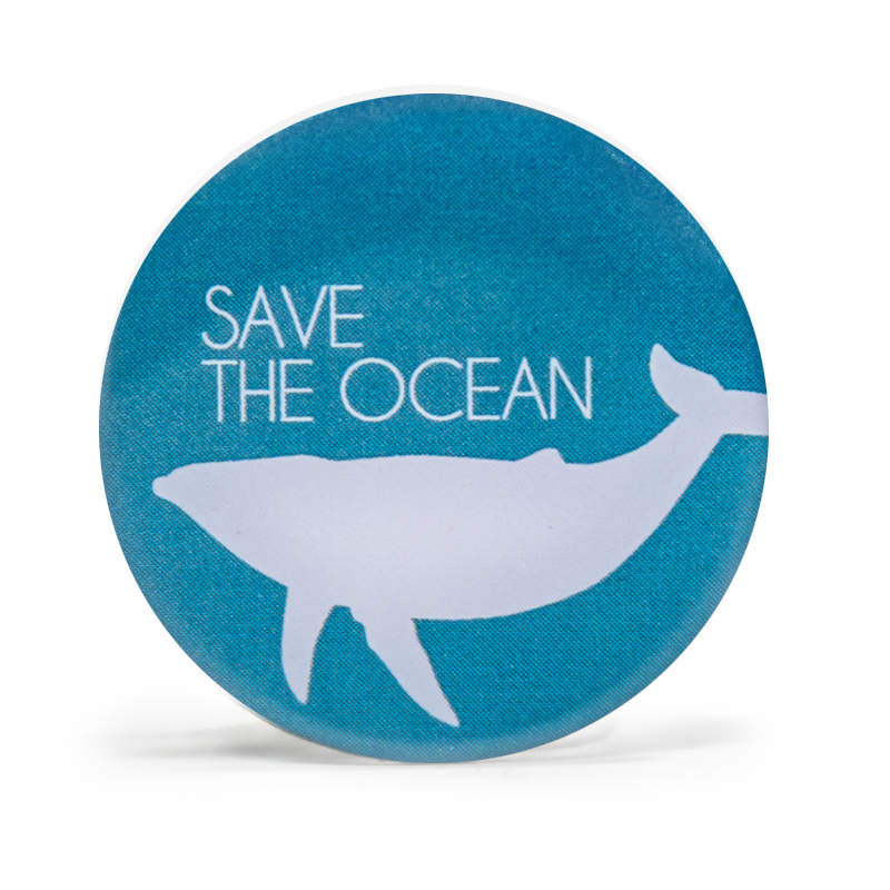 Save The Ocean Stock Lapel Pins