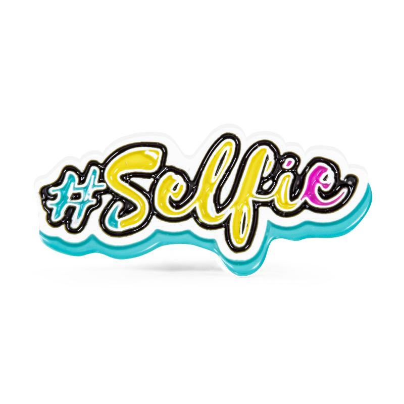 Selfie Stock Lapel Pins