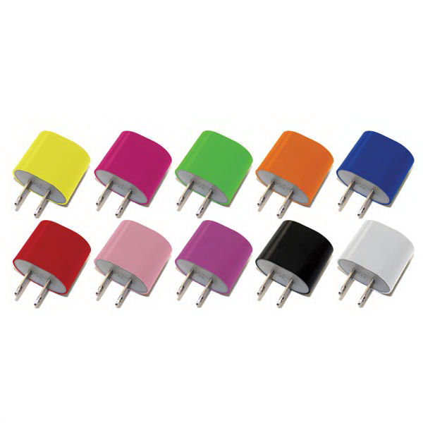 Smooth Rounded USB Wall Plug Charger