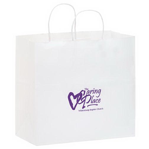Star White Paper Bag