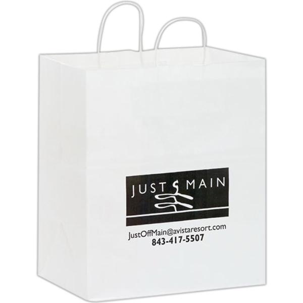 Takeout White Bag