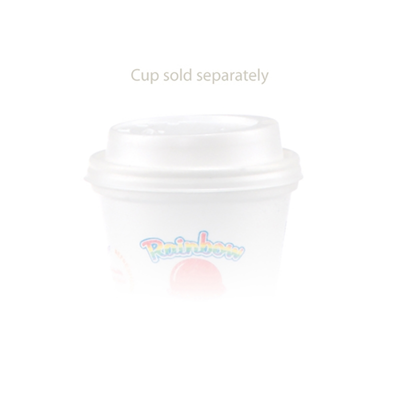 Tall White Styrofoam Coffee Cup-8 Oz Domed Lid