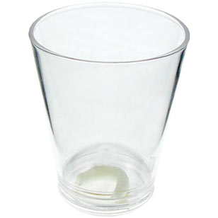 Tequila Worm Shot Glass 1.5oz