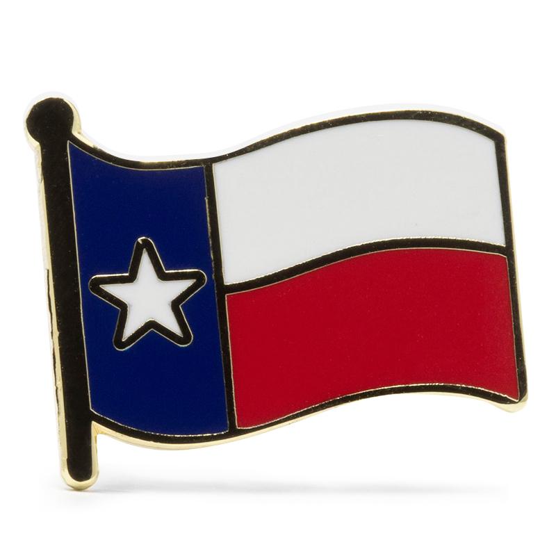 Texas Flag Stock Lapel Pins
