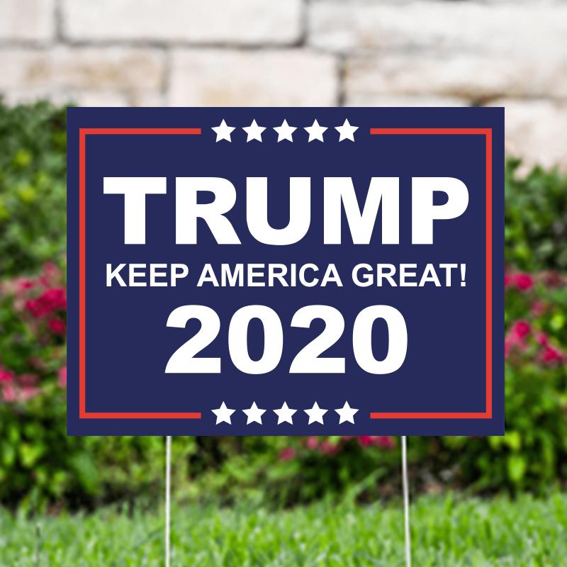 Trump Keep America Great 2020 Political Yard Signs