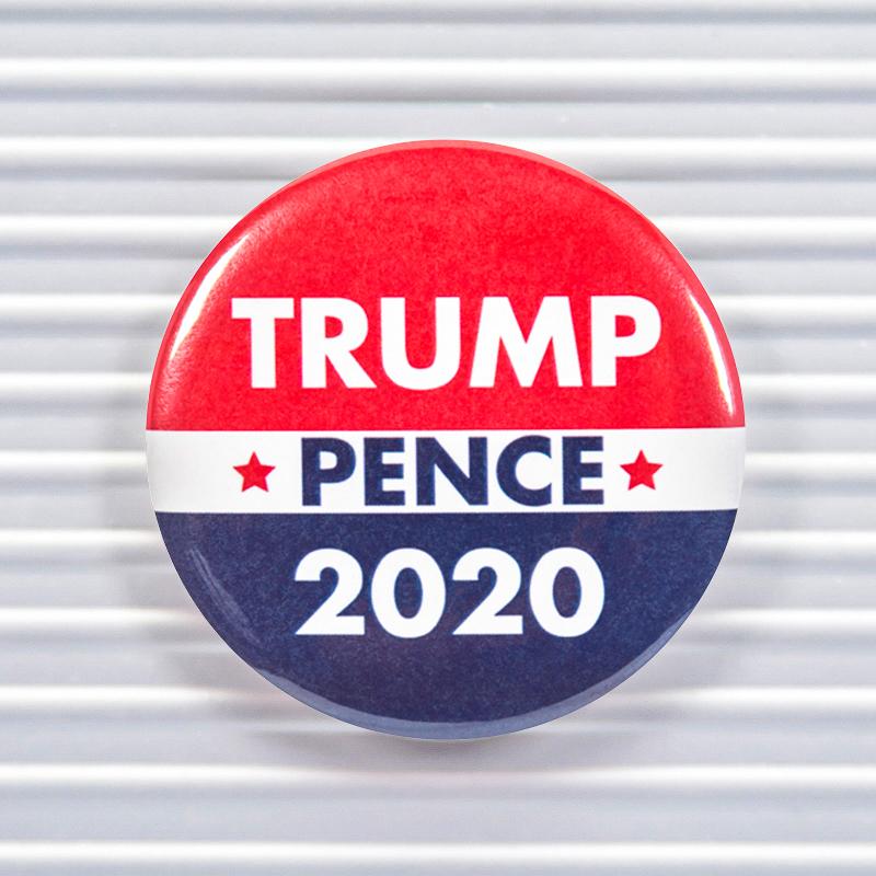 Trump Pence 2020 Pin Buttons